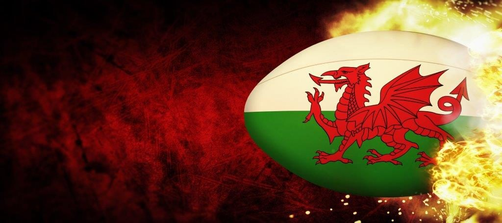 Rugby Life Wales Ball On Fire