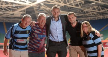 Welsh Welcome For Golden Oldies World Rugby Festival